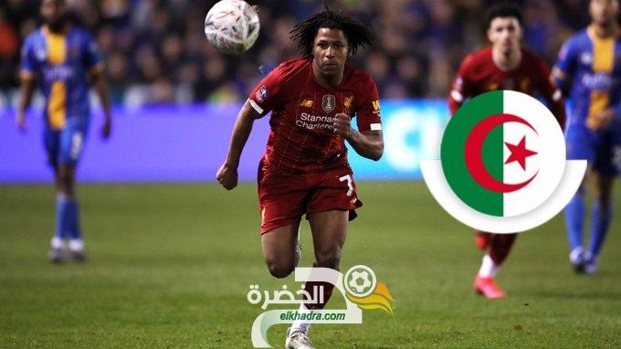 ياسر لعروسي لاعب ليفربول يختار اللعب مع الجزائر ! 28