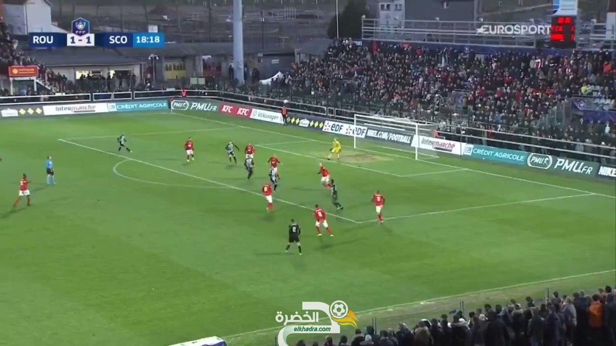 بالفيديو : ثنائية خرافية لفريد الملالي ضد روان في كأس فرنسا! 26