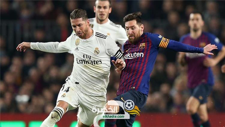 القنوات الناقلة لمباراة الكلاسيكو ريال مدريد وبرشلونة اليوم الاحد 01 مارس 2020 26