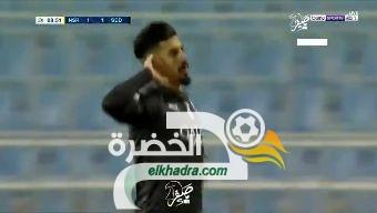 شاهد هدف بغداد بونجاح في مباراة السد و النصر تعليق حفيظ دراجي 33