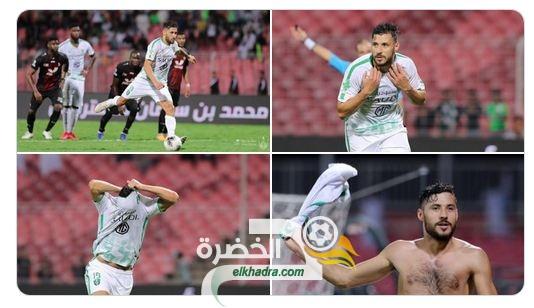 هدف يوسف بلايلي الثاني اليوم ضد مبولحي في الدوري السعودي 25