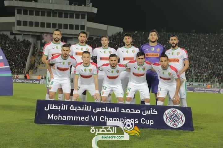 المولودية تعود بإنتصار مشرف من جحيم محمد الخامس بالدار البيضاء أمام نادي الرجاء 25