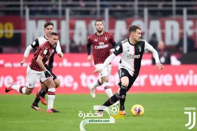 بمشاركة بن ناصر .. ميلان يتعادل أمام جوفنتوس في ذهاب نصف نهائي كأس إيطاليا 29