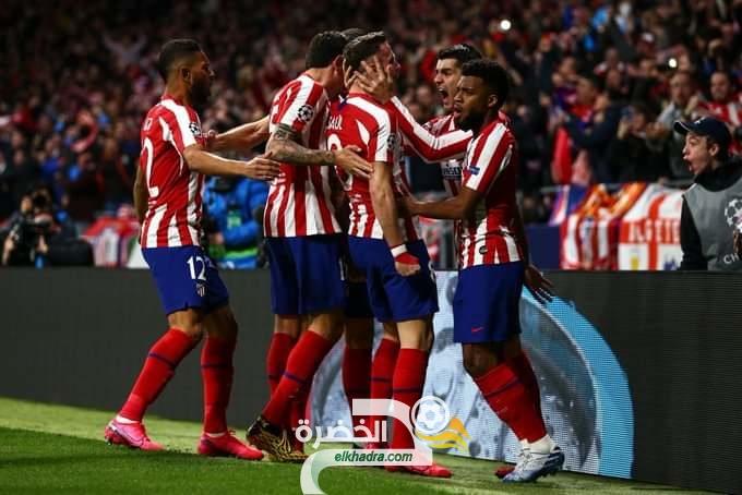 ليفربول يسقط أمام أتلتيكو مدريد بهدف ساؤول . 30