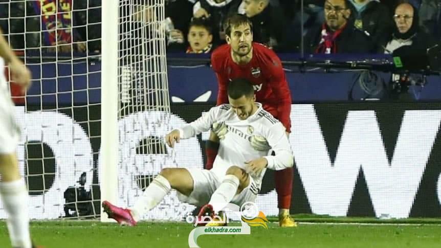 ريال مدريد يضّيع صدارة الدوري الاسباني بخسارته أمام ليفانتي 29
