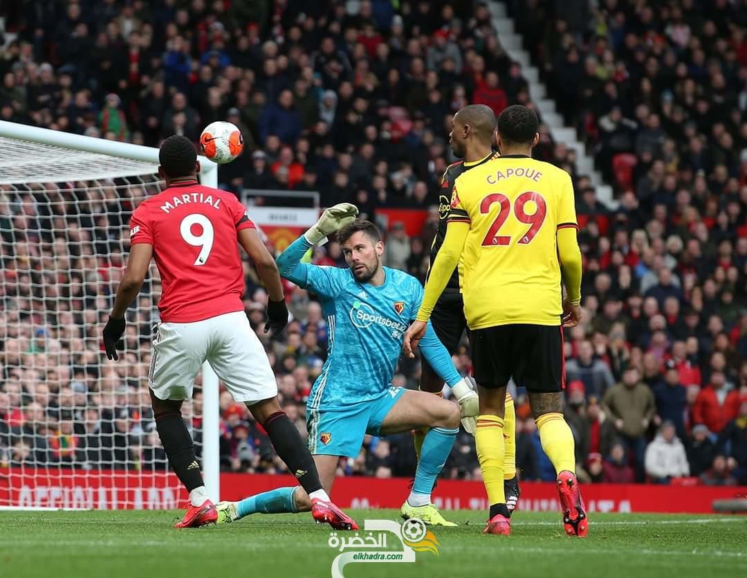 الدوري الإنجليزي : مانشستر يونايتد يفوز على واتفورد بثلاثية نظيفة 27