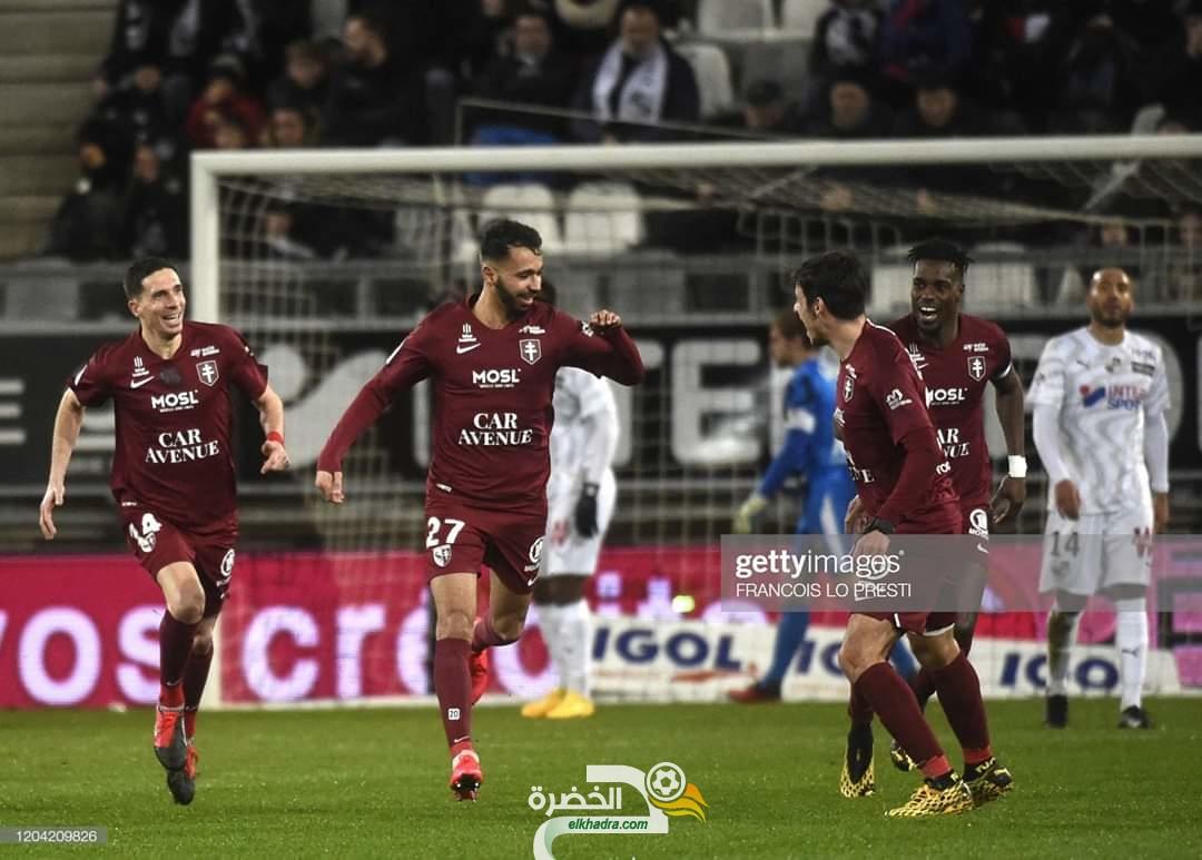 هدف الجزائري فريد بولاية الرائع ضد اميان في الدوري الفرنسي 29