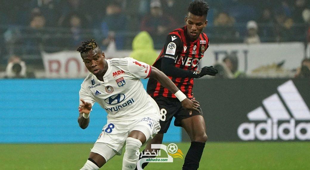 فيديو : شاهد كل ما فعله هشام بوداوي اليوم امام ليون Hicham Boudaoui vs Lyon 29