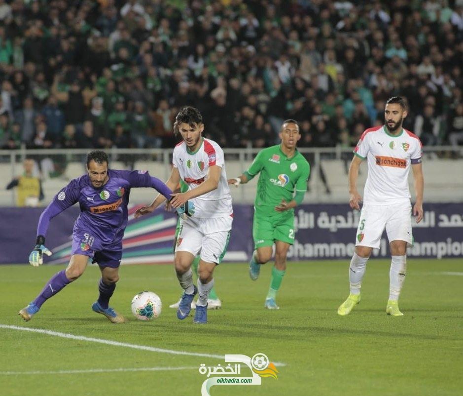 مولودية الجزائر تقصى من كاس العرب رغم الفوز في المغرب أمام الرجاء 29