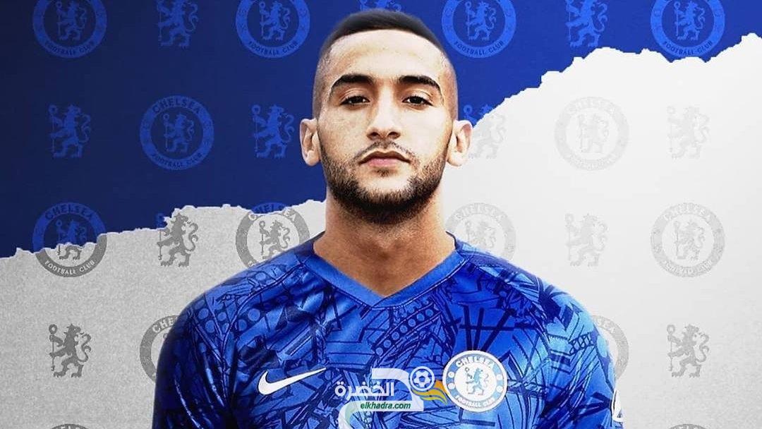 المغربي حكيم زياش ينتقل إلى تشيلسي مقابل 40 مليون يورو 25