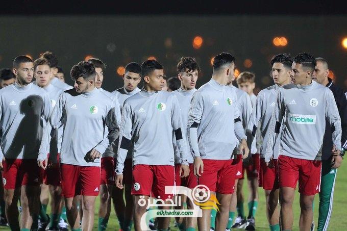 كأس العرب أقل من 20 سنة ... برنامج مباريات المنتخب الجزائري للشباب 30