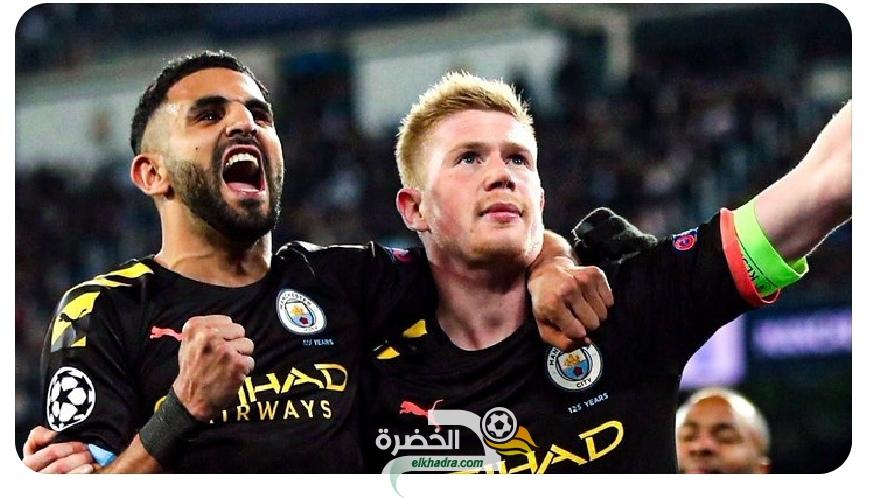 بمشاركة محرز .. السيتي يعود بالفوز من ريال مدريد 38