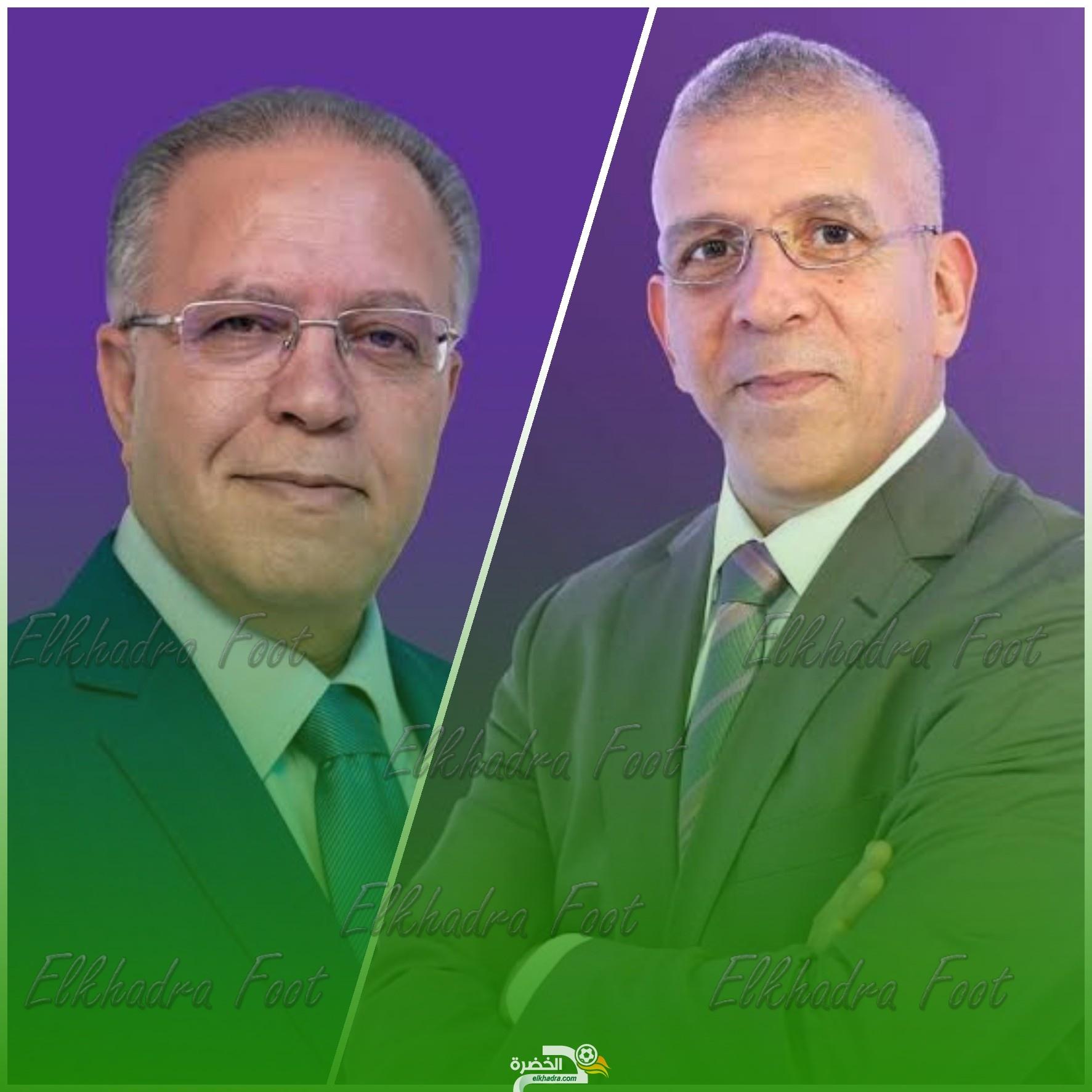 حفيظ دراجي ورؤوف خليف معلقان على مبارتين قويتين في دوري الأبطال 27
