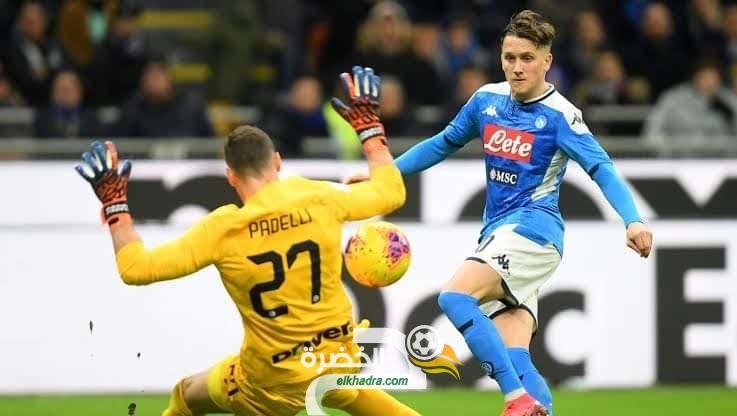 نابولي يضع خطوة عملاقة في نهائي كأس إيطاليا 29