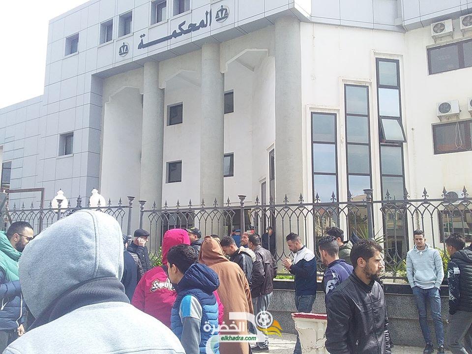 أحداث شغب مباراة أهلي البرج ووفاق سطيف : الحكم بشهرين نافذين على 29 مناصرا 29