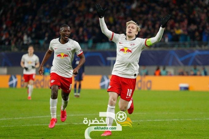 لايبزيج يتجاوز توتنهام ويتأهل للدور ربع النهائي من دوري أبطال أوروبا 24