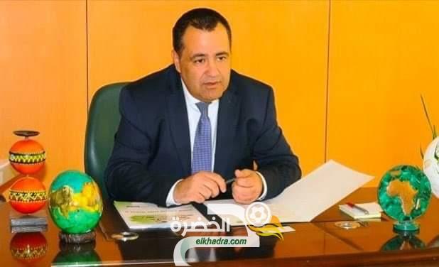 """رسميا .. المغربي """" معاذ حجي """" يستقيل من منصبه كسكرتير عام ل """" الكاف """" 31"""