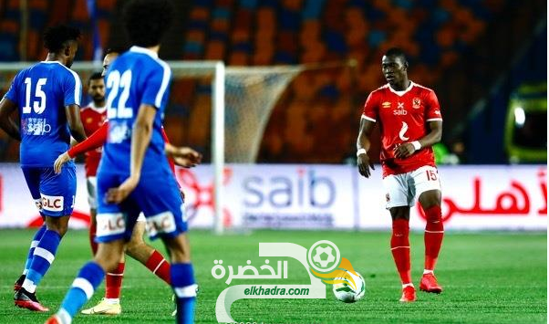 الأهلي يتعادل مع سموحة بالدوري المصري 32