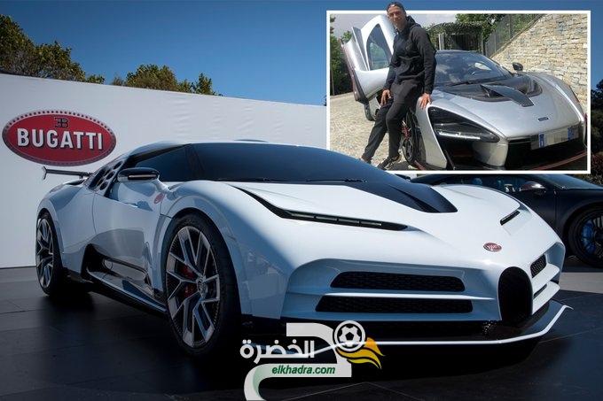 """رونالدو يشتري سيارة """"بوجاتي سينتوديتشي"""" مقابل 8.5 مليون جنيه إسترليني 137"""