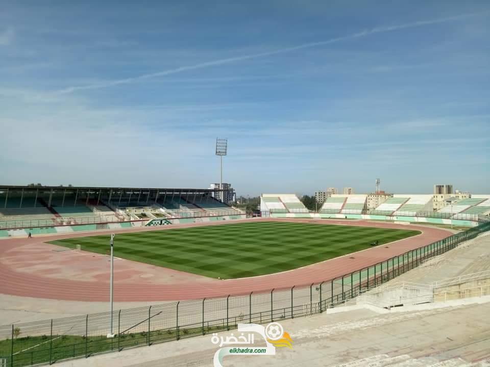 بالصور : أرضية ملعب مصطفى تشاكر جاهزة لإحتضنان مباراة الجزائر وزيمبابوي 31