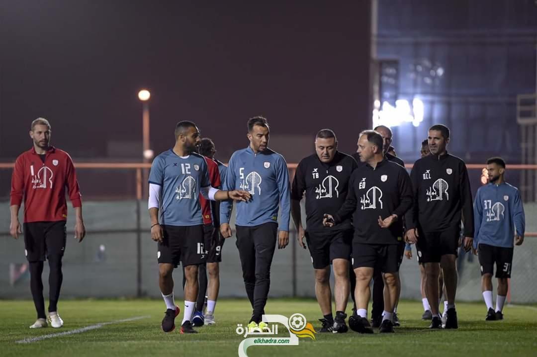 جمال بلعمري يعود للتدريبات الجماعية لنادي الشباب السعودي 31