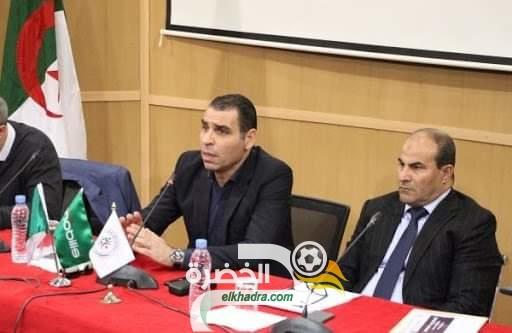 """مدوار : """"قرار إلغاء الدوري يبقى في يد الدولة الجزائرية ثم الفاف"""" 30"""