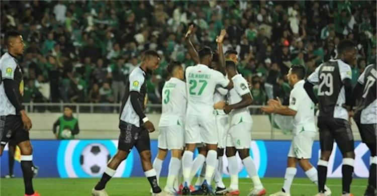 الرجاء البيضاوي يتجاوز مازمبي ويتاهل لنصف نهائي دوري أبطال إفريقيا 26