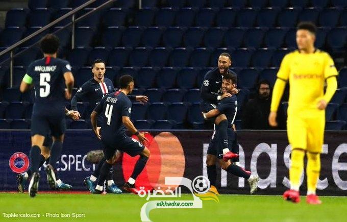 باريس سان جيرمان يتأهل لدور ربع النهائي من دوري ابطال اوروبا 31