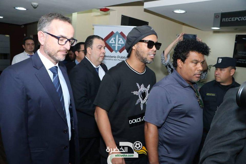 رونالدينو يغادر السجن بعد دفع كفالة 1.6 مليون دولار أمريكي 96