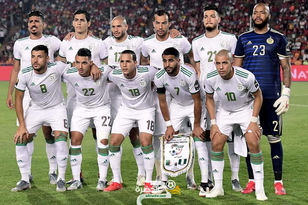 """المنتخب الوطني في المركز 35 عالميا في تصنيف """"الفيفا"""" 29"""