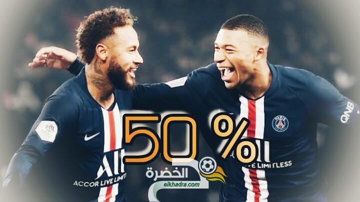 تخفيض رواتب لاعبي باريس سان جيرمان بنسبة 50 % 26