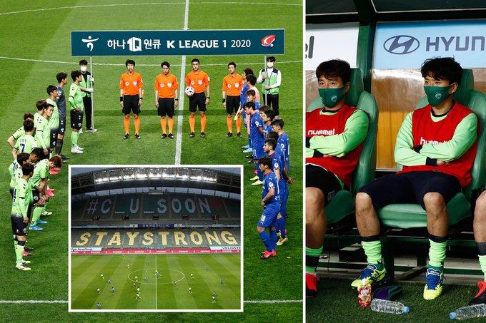 الدوري الكوري الجنوبي يبدأ من جديد بدون مشجعين 25