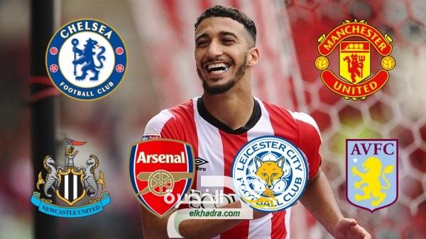 الجزائري سعيد بن رحمة محل إهتمام كبار إنجلترا 29