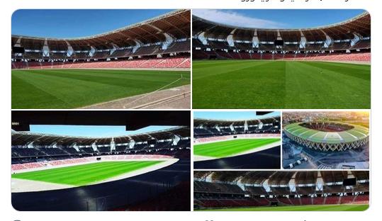 مشتلة ملعب وهران الجديد الأولى من نوعها في ملاعب كرة القدم في إفريقيا 38