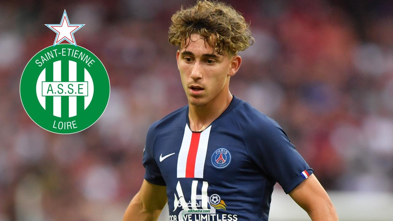 سانت إيتيان يحسم صفقة اللاعب الجزائري عادل عوشيش 26