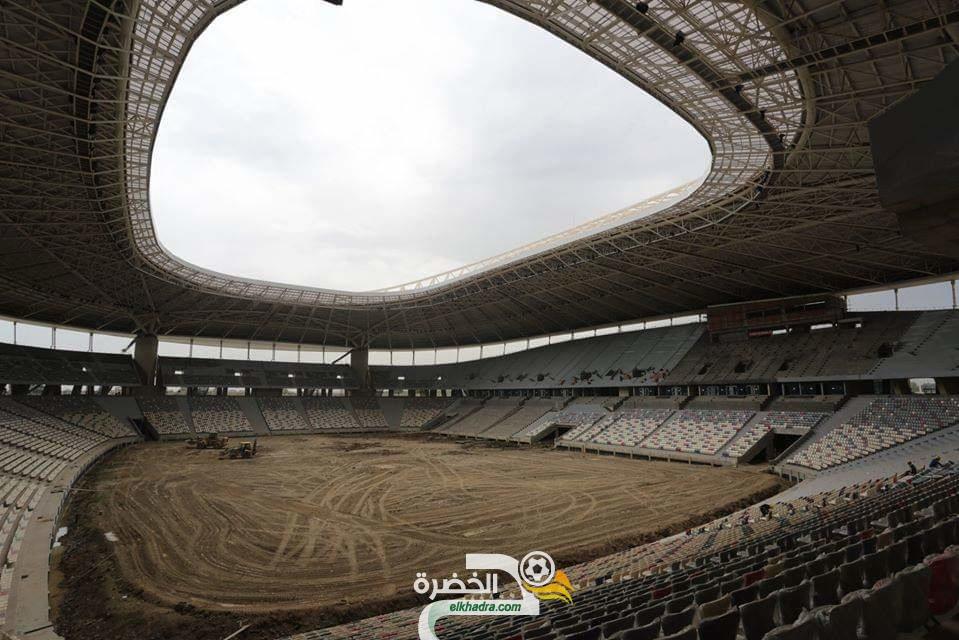 صور ملعب براقي اليوم خلال الزيارة التفقدية لوالي الجزائر و وزير الشباب والرياضة 31
