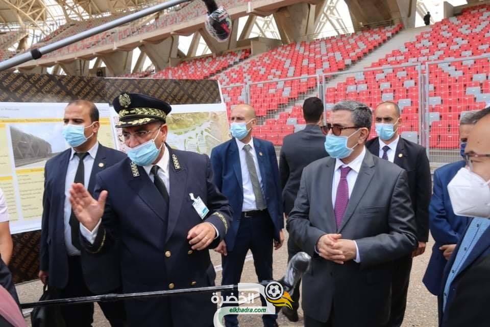 جراد : ملعب وهران الجديد سيكون مخصصا لاحتضان المنافسات الدولية والوطنية فقط 24