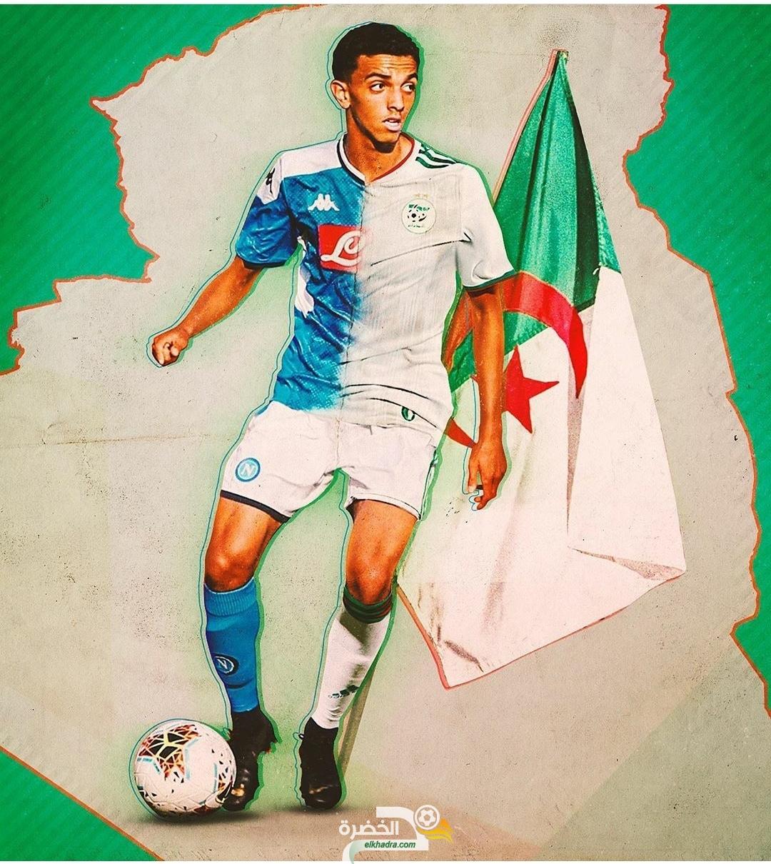 لاعب نابولي كريم زدادكة يعلن رسميا اختياره تمثيل الجزائر 27