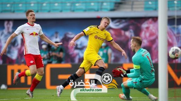 هالاند يقود بوروسيا دورتموند لحسم المركز الثاني في الدوري الالماني 29