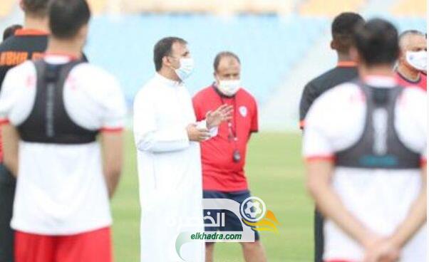 الجزائري مهدي تاهرات يغيب عن تدريبات نادي أبها السعودي 25