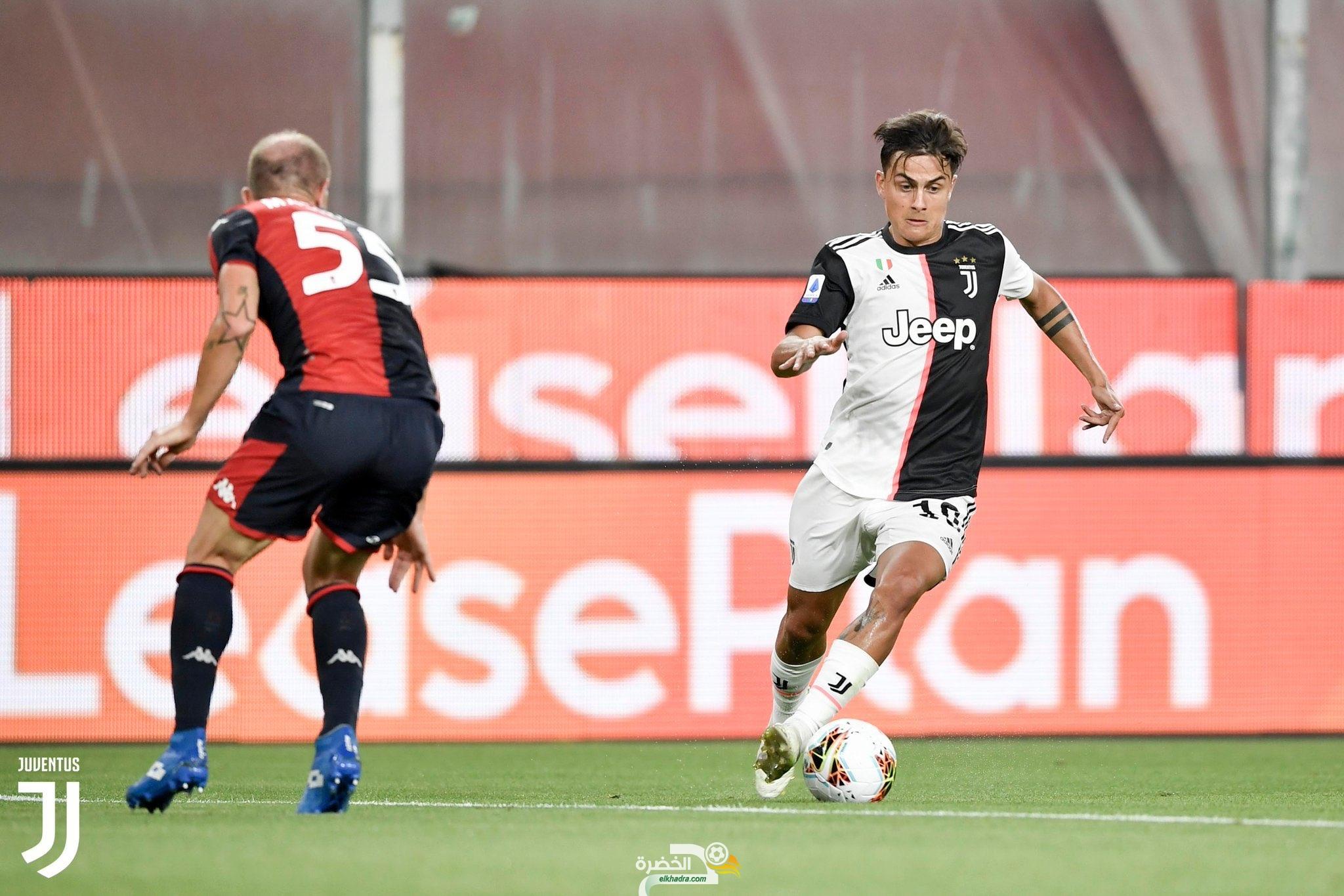 الدوري الإيطالي| المتصدر يوفنتوس يفوز على جنوى 28