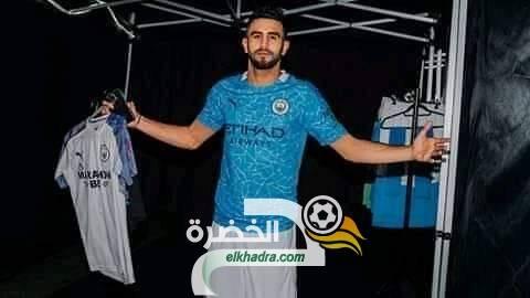 رياض محرز بقميص السيتي الجديد 31