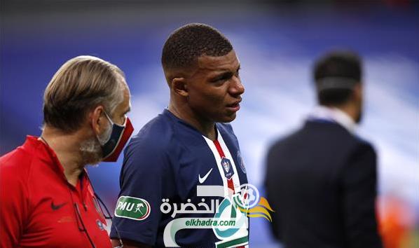 إصابة قوية للنجم الفرنسي مبابي وخروجه من مباراة سانت إتيان باكيًا! 60