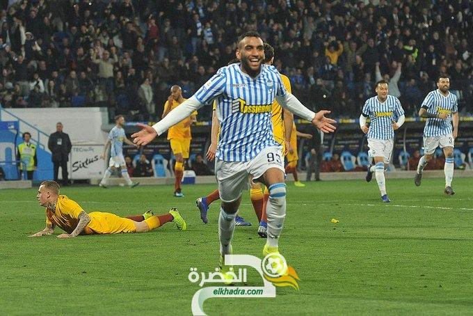 الجزائري محمد فارس الخيار الاول بالنسبة لإينزاغي مدرب نادي لاتسيو 36