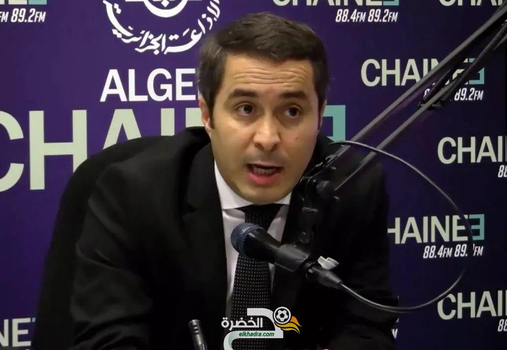 """سيد علي خالدي : """"الدولة الجزائرية ستواصل بذل قصارى جهدها لإجلاء رياضييها أينما وجدوا """" 30"""