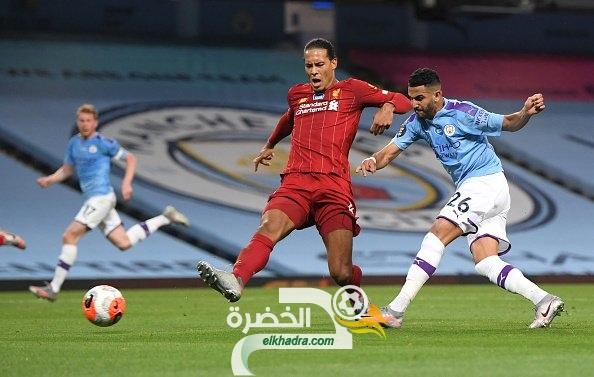 """بالفيديو.. """"الVAR"""" يحرم محرز من هدف رائع ضد ليفربول 32"""