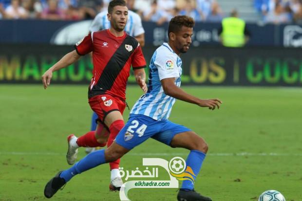 محمد بن خماسة بديل في تعادل ملغا ضد الباسيتي في الليغا 2 الاسبانية 36