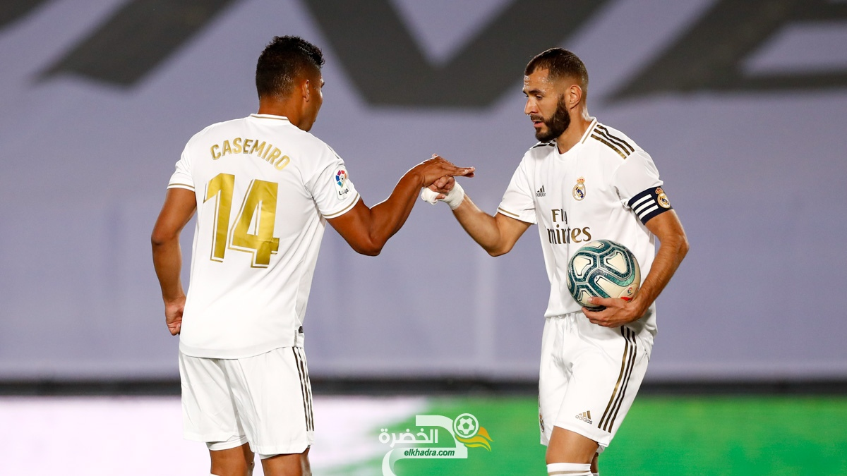 ريال مدريد يفوز على الافيس ويقترب من تحقيق لقب الليجا رقم 34 26