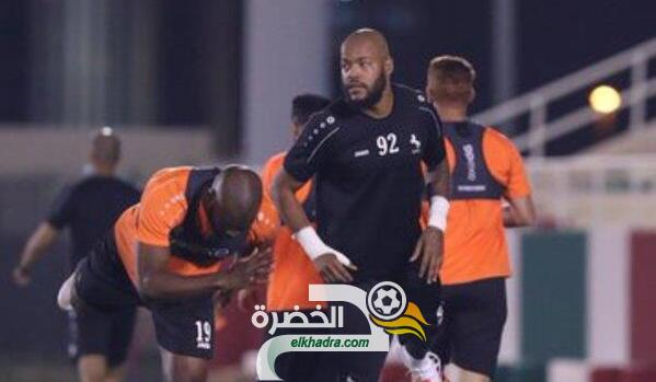 مبولحي ينتظم في التدريبات الجماعية لفريق الاتفاق السعودي 37
