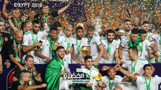 تصنيف الفيفا الجديد : مفاجأة جزائرية 40